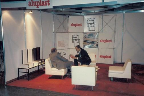 aluplast Messe Ausland 1991