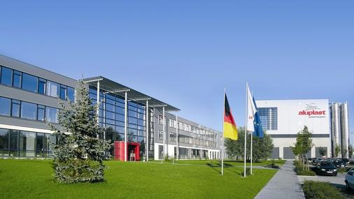 Firmengebäude aluplast Karlsruhe