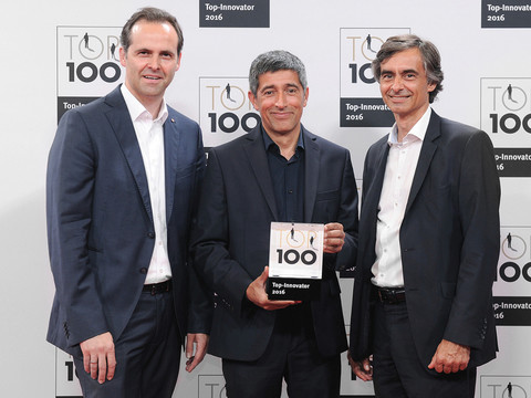 TOP100: Preisgekrönte Innovationsleistung