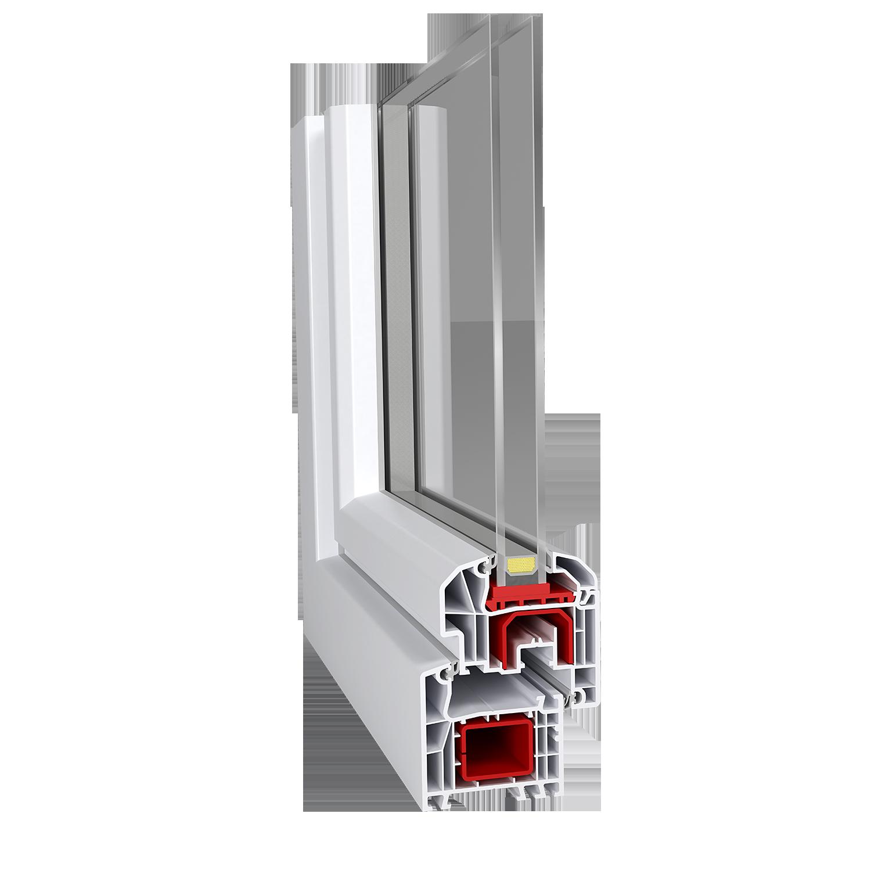 Ideal 4000 aluplast for Fenetre pvc 50 x 60