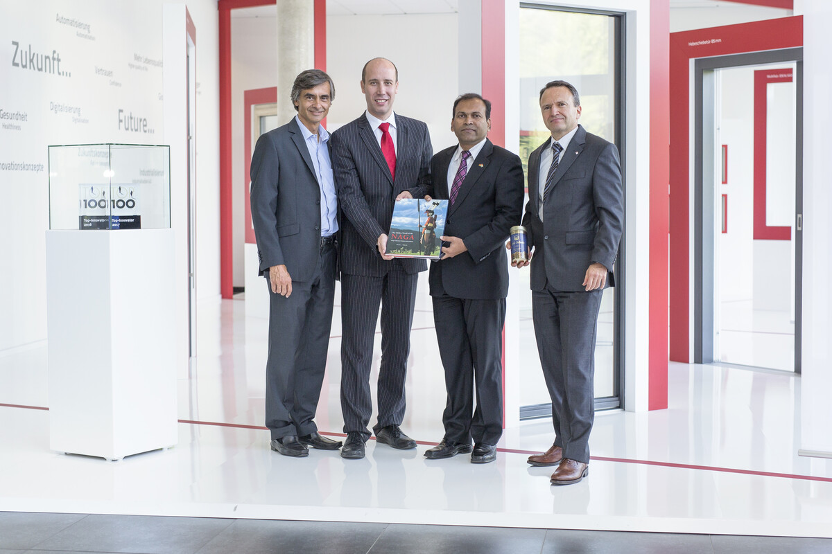 Visit of Mr. Sugandh Rajaram, Consul General of India in Germany