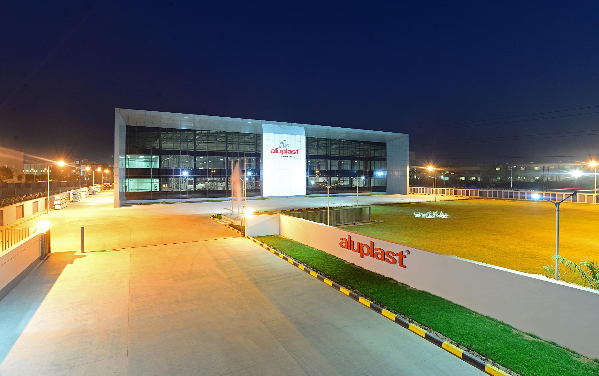 New Aluplast Extrusion Plant In Vadodara Gujarat Aluplast
