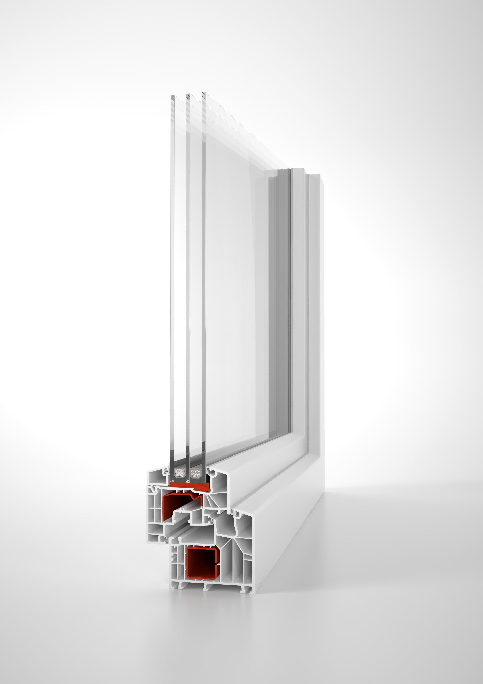 Top IDEAL 8000 | 85mm Bautiefe - Für das Plus an Sicherheit - aluplast IL88